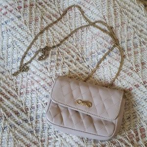 HENRI BENDEL Pink Quilted Coin Credit Card Purse